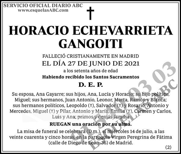 Horacio Echevarrieta Gangoiti