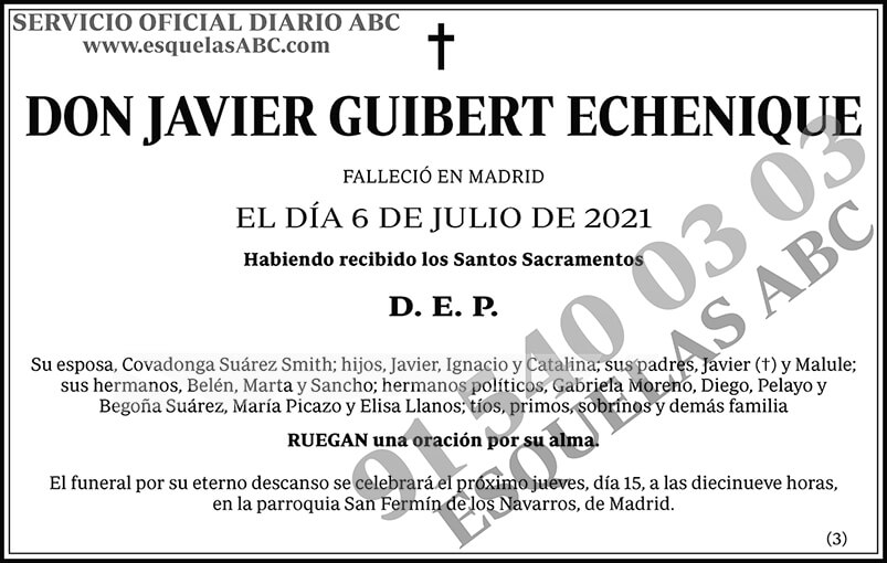 Javier Guibert Echenique
