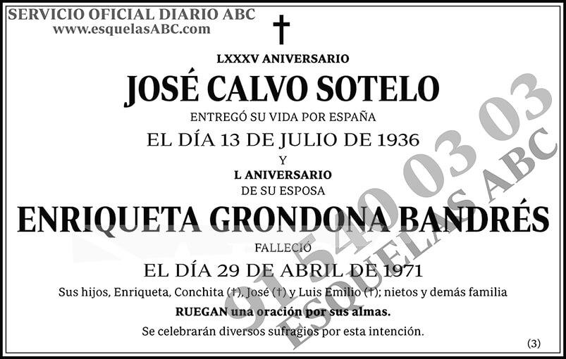 José Calvo Sotelo