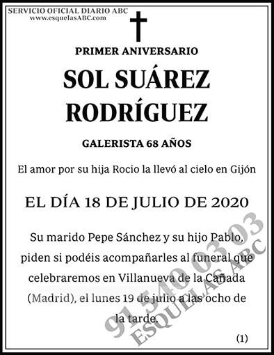 Sol Suárez Rodríguez