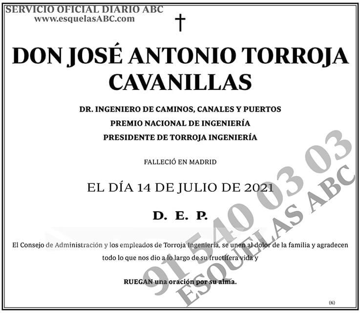 José Antonio Torroja Cavanillas