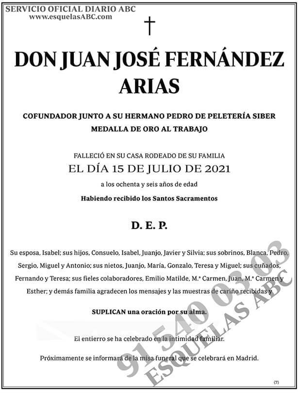Juan José Fernández Arias