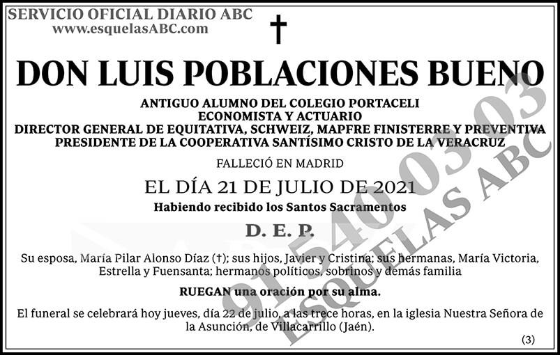Luis Poblaciones Bueno