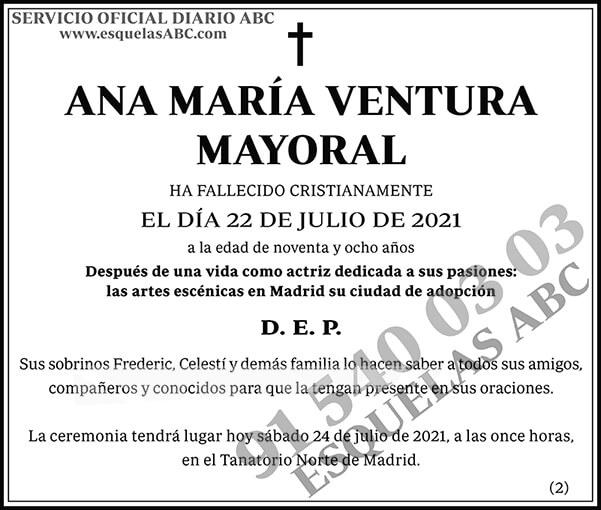 Ana María Ventura Mayoral
