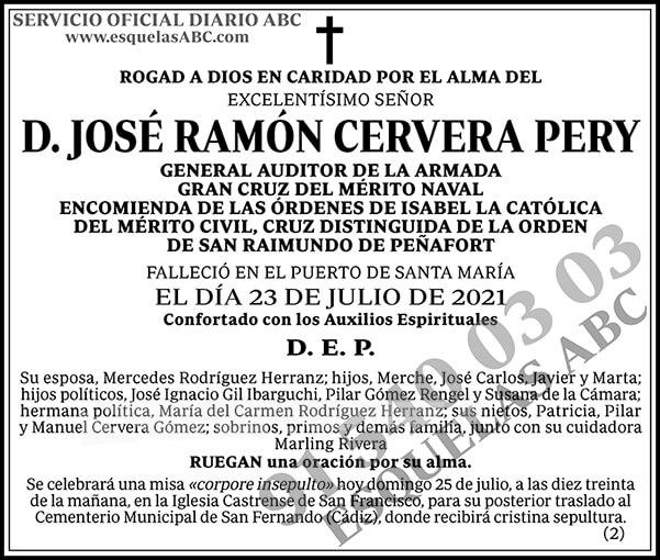 José Ramón Cervera Pery
