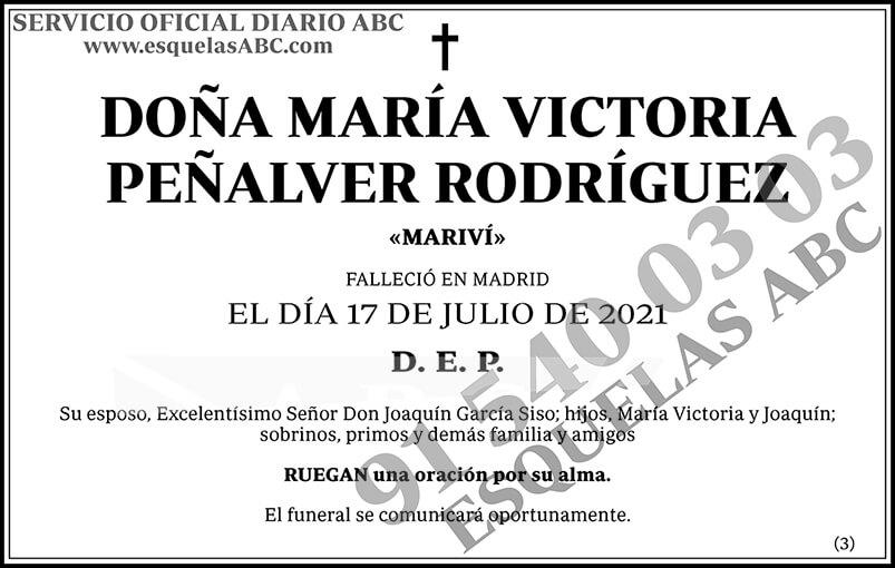 María Victoria Peñalver Rodríguez