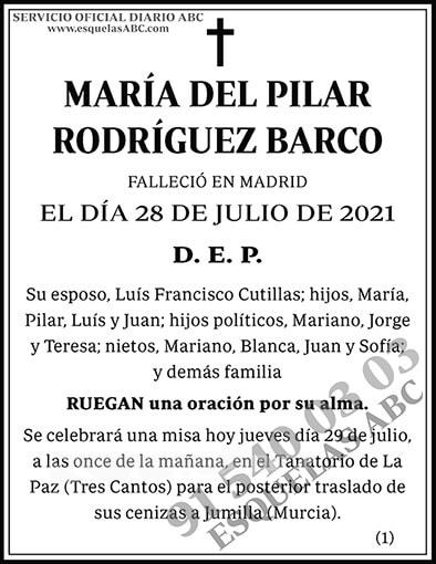 María del Pilar Rodríguez Barco