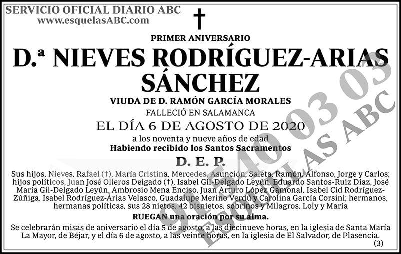 Nieves Rodríguez-Arias Sánchez