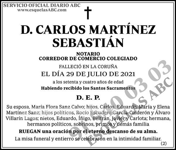 Carlos Martínez Sebastián
