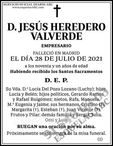 Jesús Heredero Valverde