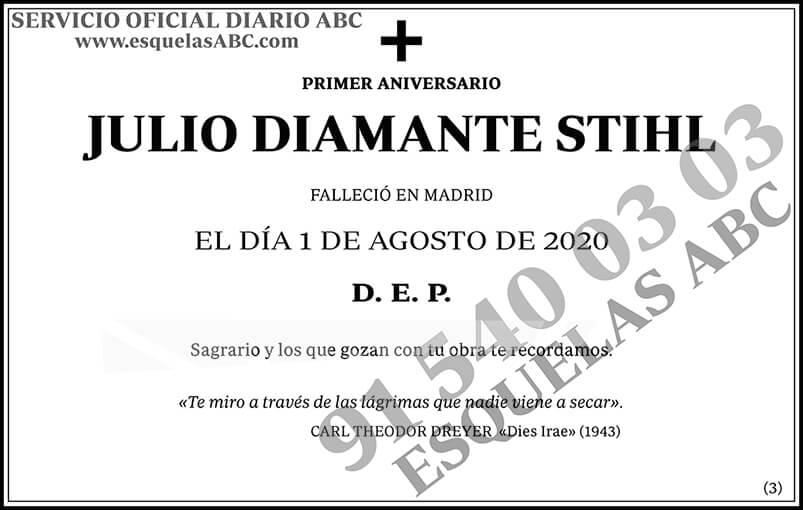 Julio Diamante Stihl