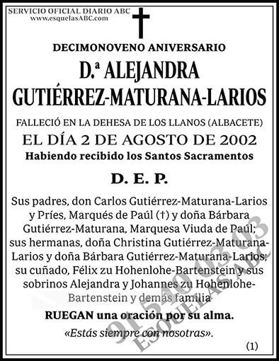 Alejandra Gutiérrez-Maturana-Larios