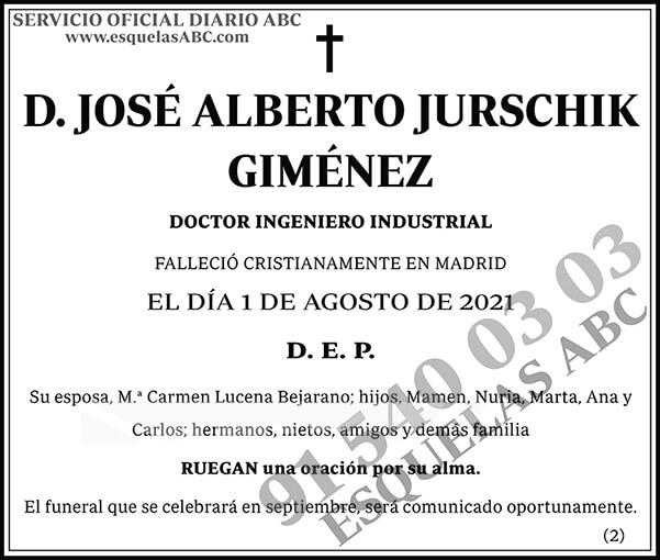 José Alberto Jurschik Giménez