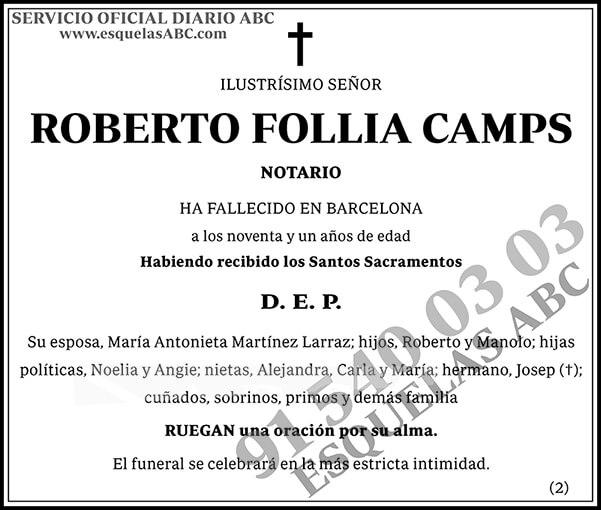 Roberto Follia Camps
