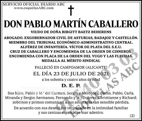 Pablo Martín Caballero