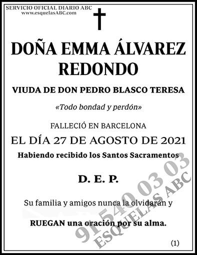 Emma Álvarez Redondo