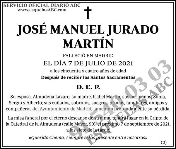 José Manuel Jurado Martín
