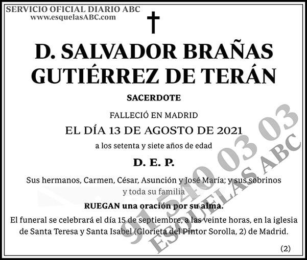 Salvador Brañas Gutiérrez de Terán