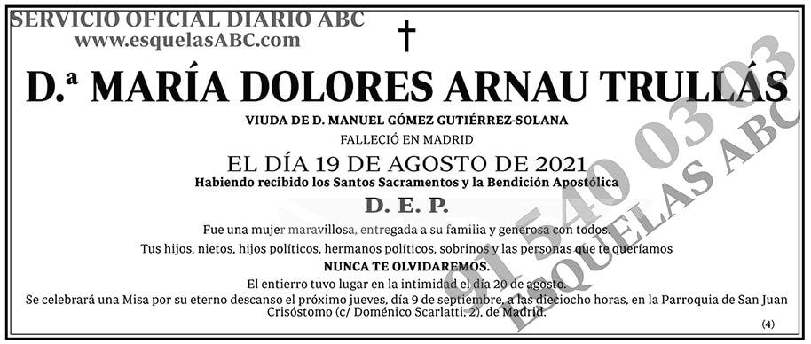María Dolores Arnau Trullás