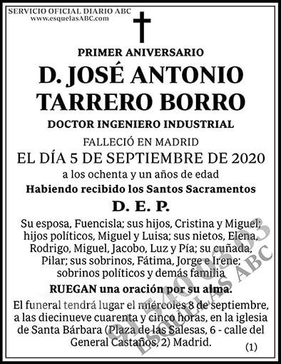 José Antonio Tarrero Borro