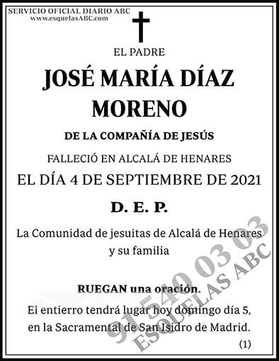 José María Díaz Moreno