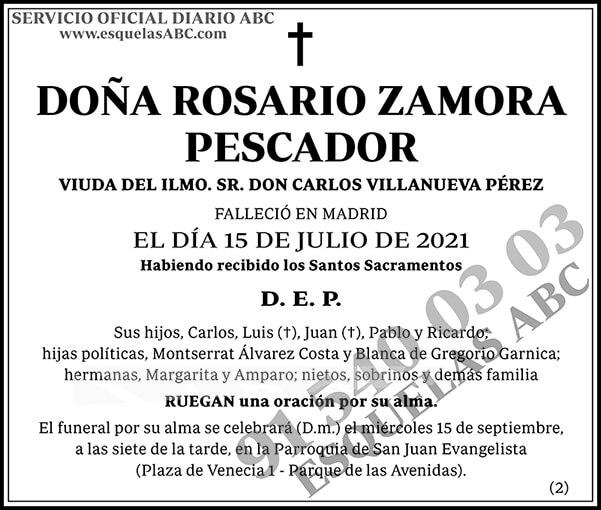 Rosario Zamora Pescador