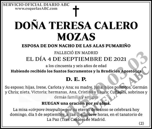 Teresa Calero Mozas