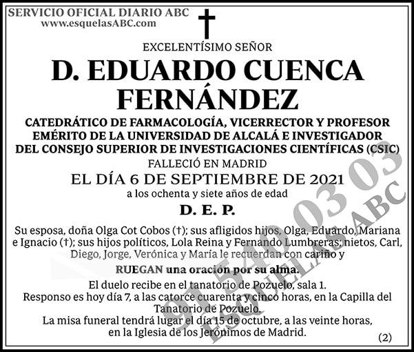 Eduardo Cuenca Fernández