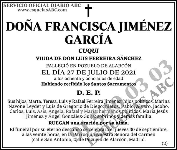 Francisca Jiménez García