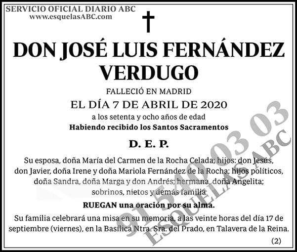 José Luis Fernández Verdugo