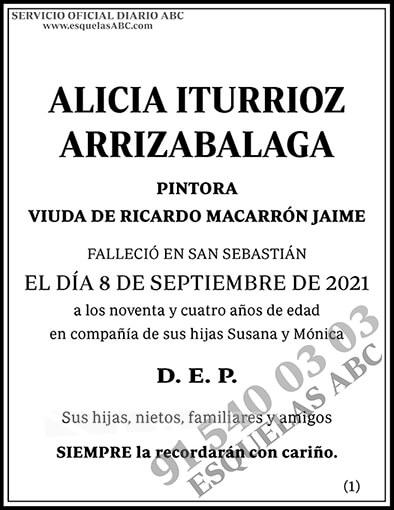 Alicia Iturrioz Arrizabalaga