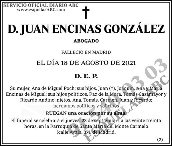 Juan Encinas González