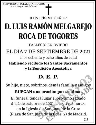 Luis Ramón Melgarejo Roca de Togores
