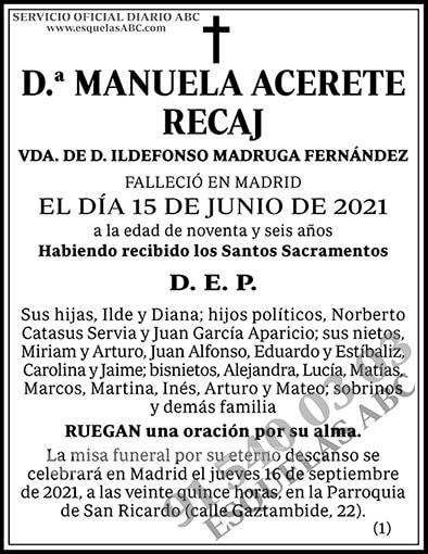 Manuela Acerete Recaj