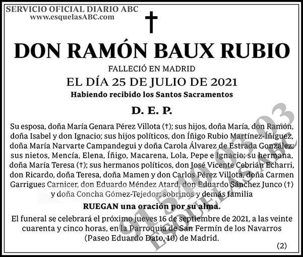 Ramón Baux Rubio