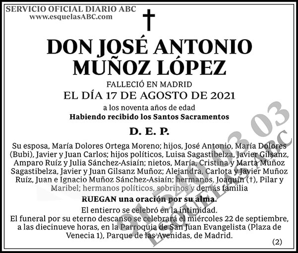 José Antonio Muñoz López