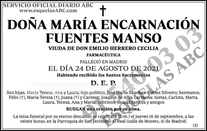 María Encarnación Fuentes Manso