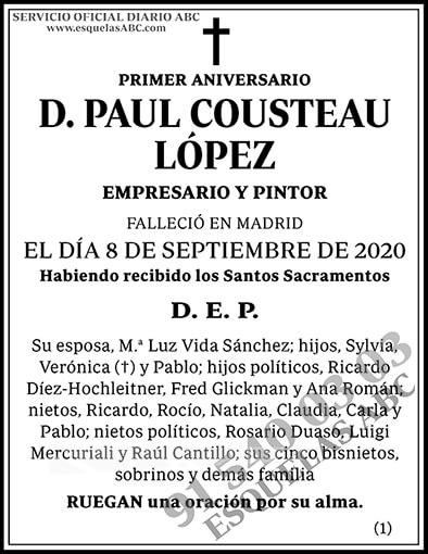 Paul Cousteau López