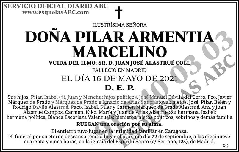 Pilar Armentia Marcelino