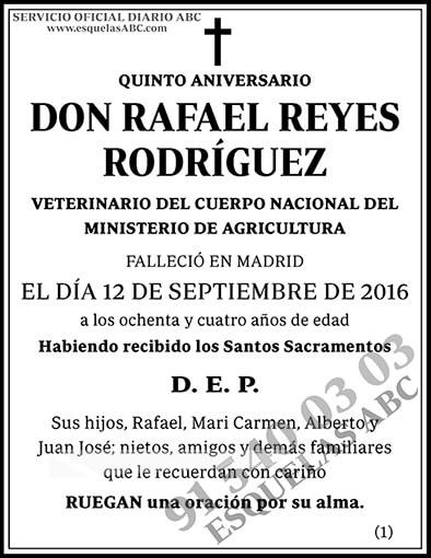 Rafael Reyes Rodríguez