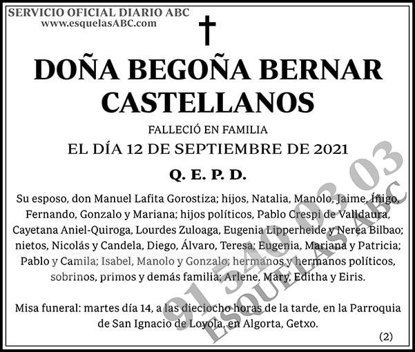 Begoña Bernar Castellanos