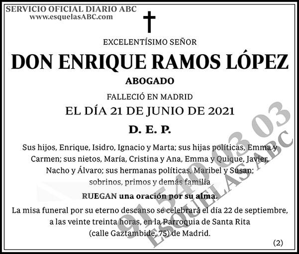 Enrique Ramos López