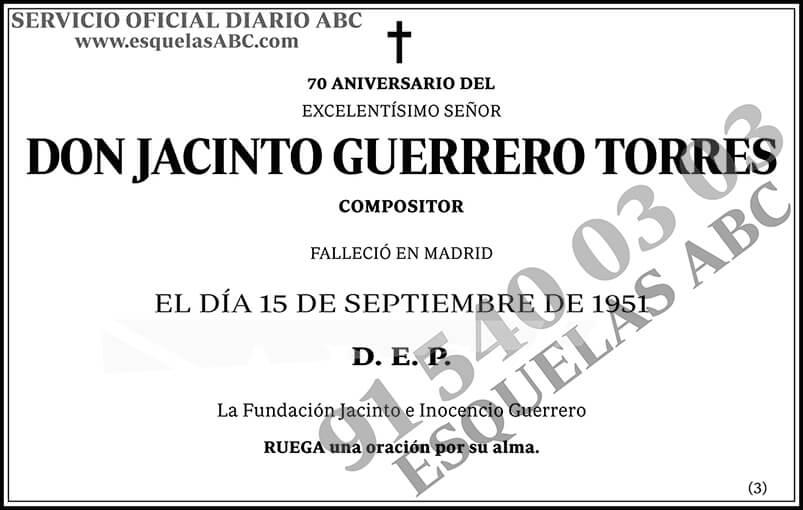 Jacinto Guerrero Torres