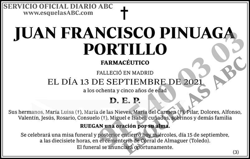 Juan Francisco Pinuaga Portillo