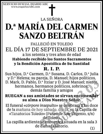 María del Carmen Sanzo Beltrán