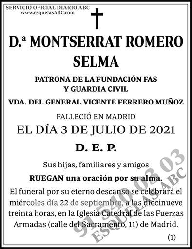 Montserrat Romero Selma