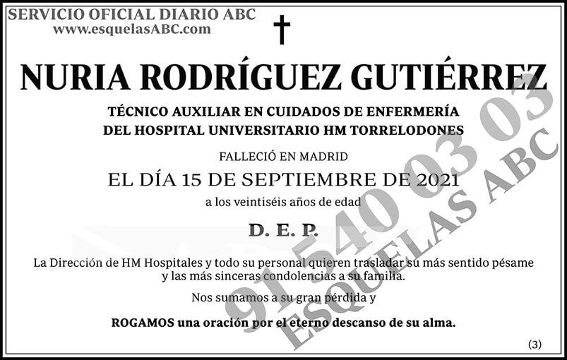 Nuria Rodríguez Gutiérrez