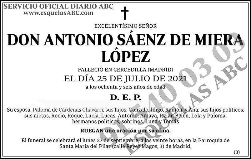 Antonio Sáenz de Miera López