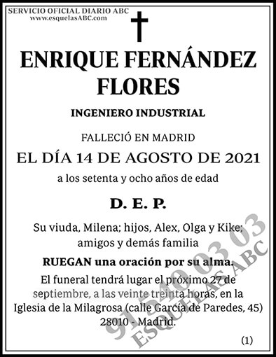 Enrique Fernández Flores