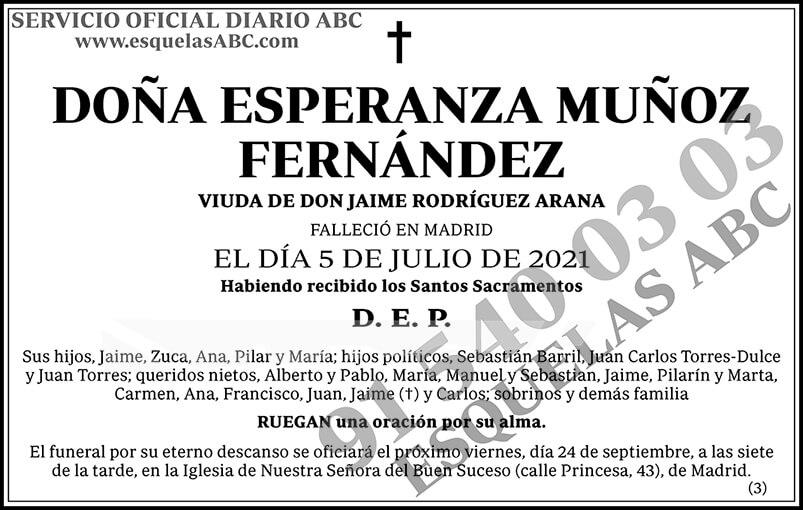 Esperanza Muñoz Fernández